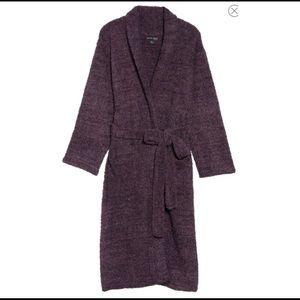 Barefoot Dreams Purple plum amethyst robe new NWT